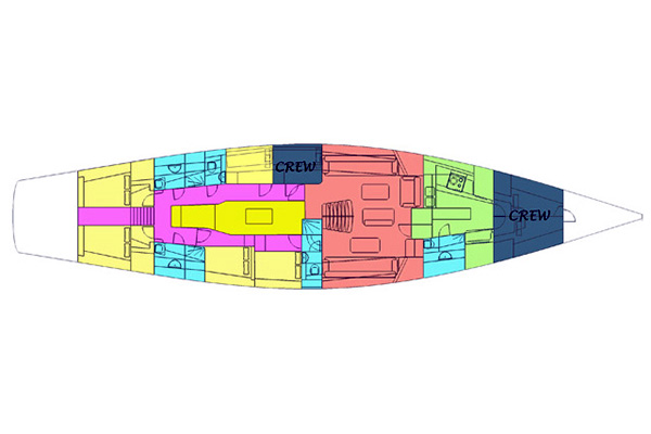 Mafasea Ketch 25m Layout 1