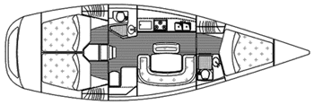 Fairline Squadron 58 Layout 1
