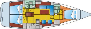 Hanse-yachts Hanse 470 Layout 1