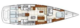 Hanse-yachts Hanse 630 Layout 1