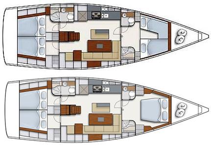 Hanse-yachts Hanse 495 Layout 1
