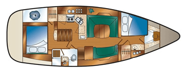 Hunter-yachts Hunter 41ds Layout 1