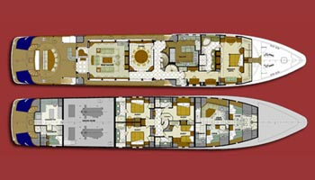 Trinity Yacht 48m Layout 2