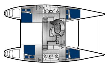 Lagoon-catamaran Lagoon 47 Layout 1