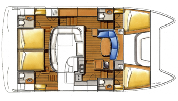 Lagoon-catamaran Lagoon Power44 Layout 1