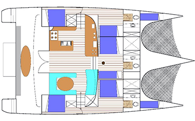 Custom Trimaran 52 Layout 1