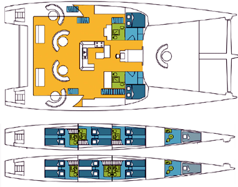 Catana-catamaran Poncin 82 Layout 1