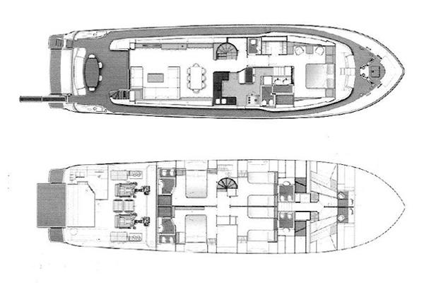 Ferretti Yacht 85 Layout 1