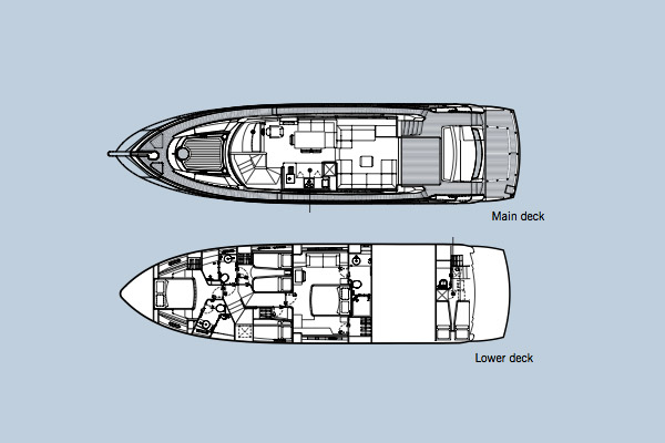 Sunseeker Manhattan 63 Layout 1