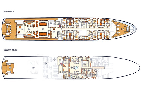 Neorion Yacht 85m Layout 2