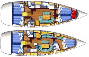 Beneteau Oceanis 473 Layout 1
