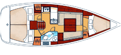 Beneteau Oceanis 34 Layout 1