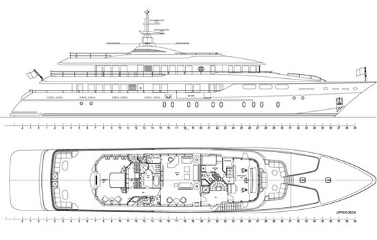 Mondomarine Yacht 49m Layout 1
