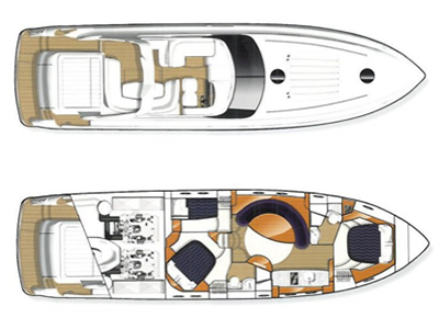 Princess-yachts Princessv 58 Layout 1