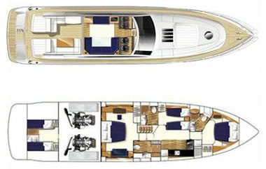 Princess-yachts Princessv 70 Layout 1