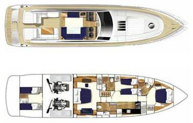 Princess-yachts Princessv 70 Layout 1
