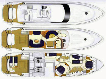 Princess-yachts Princessp 65 Layout 1