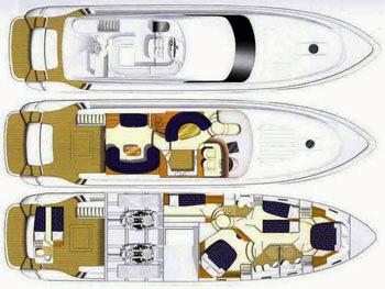 Princess-yachts Princessp 65 Layout 1