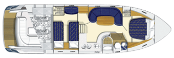 Princess-yachts Princessv 42 Layout 1