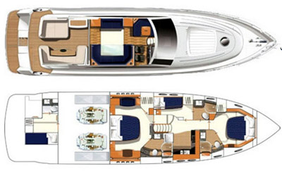 Princess-yachts Princessv 65 Layout 1