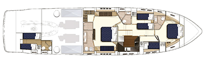 Princess-yachts Princessv 78 Layout 1