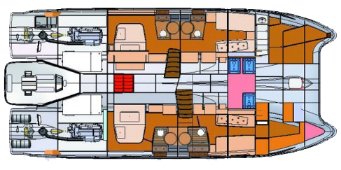 Fountaine-pajot Queensland 55 Layout 1