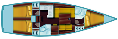 Salona-yachts Salona 41 Layout 1