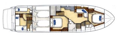 Sarnico-yachts Sarnico 65 Layout 1