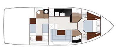 Sealine Sealine S450 Layout 1