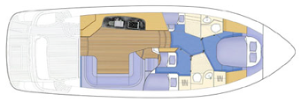 Sealine Sealine F425 Layout 1