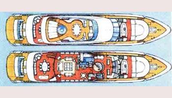 Heesen Yacht 41m Layout 1