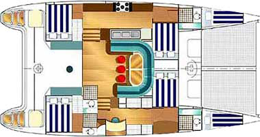 Fountaine-pajot Venezia 42 Layout 1