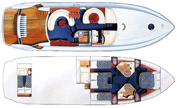 Fairline Squadron 55 Layout 1