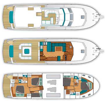 Trader-yachts Trader 585 Layout 1