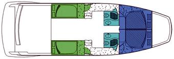Voyage-catamaran Voyage 420st Layout 1