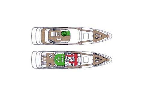 Feadship Yacht 39m Layout 1