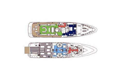 Feadship Yacht 39m Layout 2