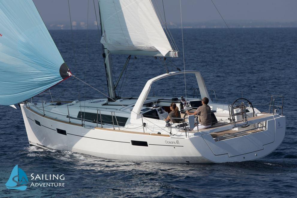 Location de bateaux Oceanis 41