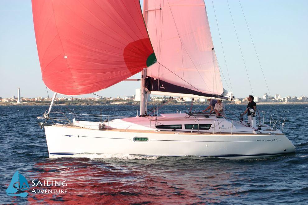 Location de bateaux Sun Odyssey36i