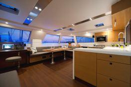 Nautitech 542 Nautitech Catamaran Interior 2