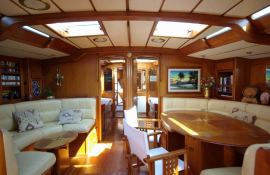 Bernic  CNB Sloop 22M Interior 3