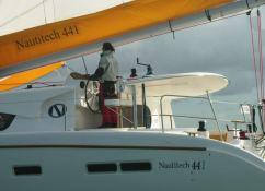 Nautitech 44 Nautitech Catamaran Exterior 3