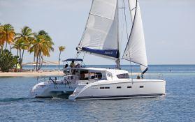 Nautitech 44 Nautitech Catamaran Exterior 1