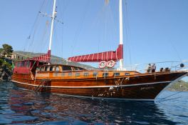 - SUN 24M Turkish Gulet Exterior 2