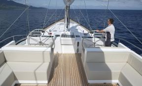 Red Dragon  Alloy Yachts Sloop 52M Exterior 6