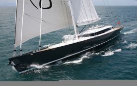 Red Dragon  Alloy Yachts Sloop 52M Exterior 2