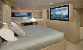 Red Dragon  Alloy Yachts Sloop 52M Interior 5