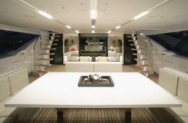 Red Dragon  Alloy Yachts Sloop 52M Interior 1