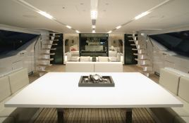 Red Dragon Alloy Yachts Sloop 52M Interior 1