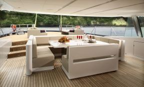 Red Dragon Alloy Yachts Sloop 52M Interior 2
